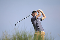 Marc McKinstry (Cairndhu) on the 16th tee during Round 4 of the East of Ireland Amateur Open Championship 2018 at Co. Louth Golf Club, Baltray, Co. Louth on Monday 4th June 2018.<br /> Picture:  Thos Caffrey / Golffile<br /> <br /> All photo usage must carry mandatory copyright credit (&copy; Golffile | Thos Caffrey)