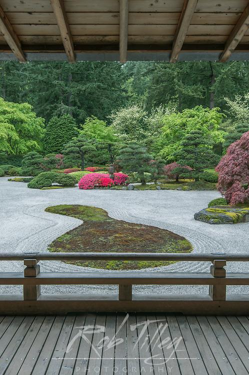 USA, OR, Portland, Porland Japanese Garden