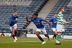 25.04.2019 Celtic v Rangers youth cup final: Dapo Mebude celebrates goal no 2