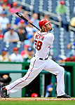 8 September 2011: Washington Nationals outfielder Jayson Werth in action against the Los Angeles Dodgers at Nationals Park in Washington, DC. The Dodgers defeated the Nationals 7-4 to take the third game of their 4-game series. Mandatory Credit: Ed Wolfstein Photo