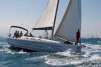 ESP 7753 UMA Hugo Ignacio Palau Tarrega DUFOUR 40 M. Benicarlo <br /> Salida de la 22 Ruta de la Sal 2009 Versi&oacute;n Este, Denia, Alicante, Espa&ntilde;a
