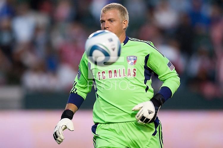 FC Dallas defeated CD Chivas USA 2-1 at Home Depot Center stadium in Carson, California on June 18, 2011....