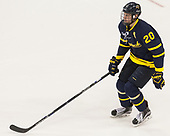 Hampus Gustafsson (Merrimack - 20) - The visiting Merrimack College Warriors defeated the Boston University Terriers 4-1 to complete a regular season sweep on Friday, January 27, 2017, at Agganis Arena in Boston, Massachusetts.The visiting Merrimack College Warriors defeated the Boston University Terriers 4-1 to complete a regular season sweep on Friday, January 27, 2017, at Agganis Arena in Boston, Massachusetts.
