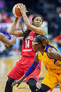 Washington, DC - July 22, 2016: Washington Mystics guard Tierra Ruffin-Pratt (14) in action during game against the Los Angeles Sparks at the Verizon Center in Washington, DC. (Photo by Phil Peters/Media Images International)