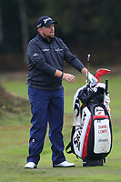 Shane Lowry (IRL) on the 2nd fairway during Round 4 of the Sky Sports British Masters at Walton Heath Golf Club in Tadworth, Surrey, England on Sunday 14th Oct 2018.<br /> Picture:  Thos Caffrey | Golffile