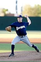 Dane Amedee - AZL Brewers - 2010 Arizona League. .Photo by:  Bill Mitchell/Four Seam Images..