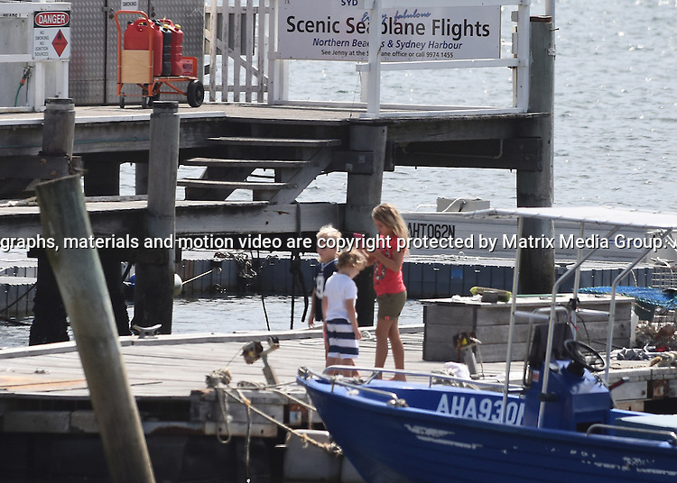 9 NOVEMBER 2014 SYDNEY AUSTRALIA<br /> <br /> EXCLUSIVE PICTURES<br /> <br /> Bec and Lleyton Hewitt pictured with their kids Mia, Cruz and Ava at The Boathouse Palm Beach having lunch with some friends. After lunch the family took a walk out along the jetty. <br /> <br /> *No web use without clearance*.<br /> MUST CONTACT PRIOR TO USE <br /> +61 2 9211-1088. <br /> <br /> Matrix Media Group.Note: All editorial images subject to the following: For editorial use only. Additional clearance required for commercial, wireless, internet or promotional use.Images may not be altered or modified. Matrix Media Group makes no representations or warranties regarding names, trademarks or logos appearing in the images.