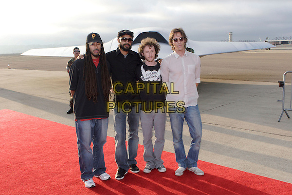 "INCUBUS.World Film Premiere of Columbia Pictures' ""Stealth"" .held at the Naval Air Station North Island (NASNI), Coronado, California, USA,17 July 2005..full length band.Ref: ADM.www.capitalpictures.com.sales@capitalpictures.com.©Zach Lipp /AdMedia/Capital Pictures."