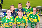 Mark Kerins, Scartaglin, John Cronin, Brosna, Timothy Kerins, Scartaglin, Dan Cronin Brosna, David, Kerins, Michael Kerins, Scartaglin  Kerry fans pictured at the GAA Chamoionship Quarter Final at Semple Stadium, Thurles on Sunday.