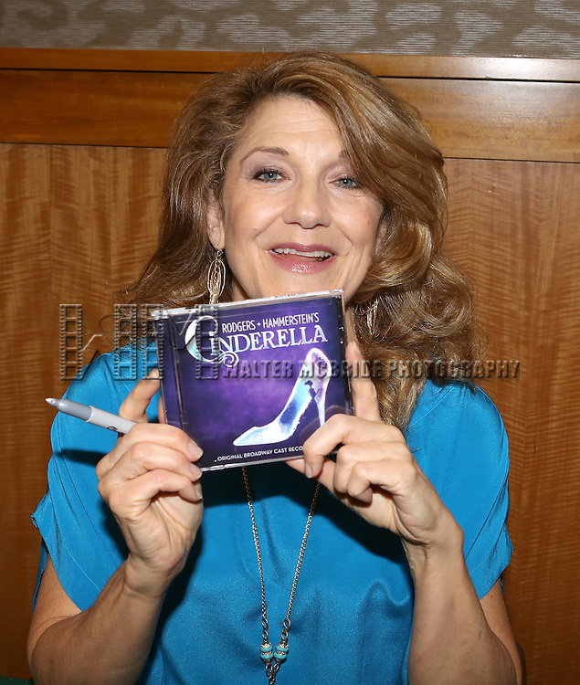 Victoria Clark  during the 'Rogers + Hammerstein's Cinderella'  Original Cast Recording CD release signing & theatre ticket raffle at Barnes & Noble 86th Street in New York City on June 13, 2013