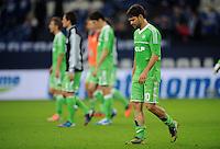 FUSSBALL   1. BUNDESLIGA  SAISON 2012/2013   7. Spieltag   FC Schalke 04 - VfL Wolfsburg        06.10.2012 DIEGO (Wolfsburg) ist nach dem Abpfiff enttaeuscht