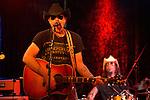 Eddie Spaghetti (left) and Chris Von Streicher of the Supersuckers perform at Dan's Silver Leaf in Denton, Texas.