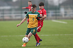 Welsh Colleges Football v Australian Schools.<br /> Cardiff Metropolitan University.<br /> 23.01.15<br /> ©Steve Pope -SPORTINGWALES