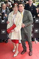 June Brown &amp; Scott Maslen at the TRIC Awards 2017 at the Grosvenor House Hotel, Mayfair, London, UK. <br /> 14 March  2017<br /> Picture: Steve Vas/Featureflash/SilverHub 0208 004 5359 sales@silverhubmedia.com