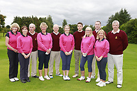Malone Team ahead of the I need Spain Ulster Mixed Foursomes  Final at Killymoon Golf Club, Belfast, Northern Ireland. 26/08/2017<br /> Picture: Fran Caffrey / Golffile<br /> <br /> All photo usage must carry mandatory copyright credit (&copy; Golffile | Fran Caffrey)