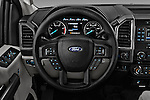 Car pictures of steering wheel view of a 2017 Ford F-350 XLT-Crew 4 Door Pickup Steering Wheel
