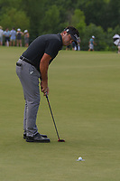 Eric Axley (USA) rims out his putt on 3 during round 3 of the AT&amp;T Byron Nelson, Trinity Forest Golf Club, at Dallas, Texas, USA. 5/19/2018.<br /> Picture: Golffile | Ken Murray<br /> <br /> <br /> All photo usage must carry mandatory copyright credit (&copy; Golffile | Ken Murray)