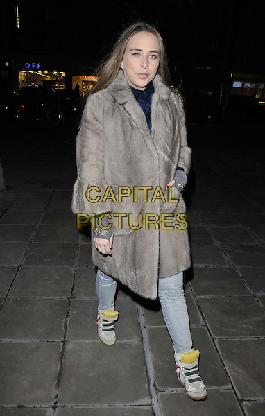 LONDON, ENGLAND - DECEMBER 02: Chloe Green attends the &quot;Stasha Palos: And The Stars Shine Down&quot; private view, Saatchi Gallery, King's Rd., on Tuesday December 02, 2014 in London, England, UK. <br /> CAP/CAN<br /> &copy;Can Nguyen/Capital Pictures