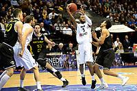GRONINGEN - Basketbal, Donar - Telenet Giants Antwerp, Martiniplaza,  Europe Cup, seizoen 2017-2018, 06-12-2017,  Donar speler Teddy Gipson