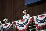 Terry Starnes during second round of the Fort Worth Stockyards Pro Rodeo event in Fort Worth, TX - 6.29.2019 Photo by Christopher Thompson