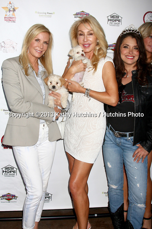LOS ANGELES - JUN 3:  Katherine Kelly Lang, Linda Thompson at the Player Concert celebrating Devin DeVasquez 50th Birthday to benefit Shelter Hope Pet Shop at the Canyon Club on June 3, 2013 in Agoura, CA