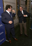 Kenneth Lonergan and Matthew Broderick attends the Opening Night Performance of 'Six Degrees Of Separation' at the Barrymore Theatre on April 25, 2017 in New York City.