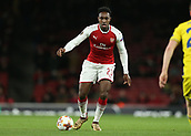 7th December 2017, Emirates Stadium, London, England; UEFA Europa League football, Arsenal versus BATE Borisov;  Danny Welbeck of Arsenal on the ball