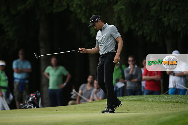 Camilo Villegas (COL) missing birdie putt on the 16th during Round Two of the 2015 BMW International Open at Golfclub Munchen Eichenried, Eichenried, Munich, Germany. 26/06/2015. Picture David Lloyd | www.golffile.ie