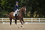 Stapleford Abbotts. United Kingdom. 04 August 2019. Class 6. British dressage. Brook Farm training centre. UK.~ 04/08/2019.  MANDATORY Credit Garry Bowden/Sport in Pictures - NO UNAUTHORISED USE - 07837 394578