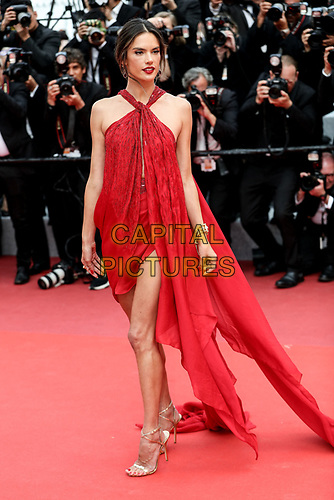 "CANNES - MAY 15:  Alessandra Ambrosio arrives to the premiere of "" LES MISÉRABLES "" during the 2019 Cannes Film Festival on May 15, 2019 at Palais des Festivals in Cannes, France.      <br /> CAP/MPI/IS/LB<br /> ©LB/IS/MPI/Capital Pictures"