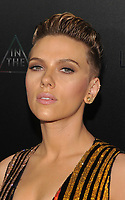 NEW YORK, NY - March 29: Scarlett Johansson Attends the 'Ghost In The Shell' premiere hosted by Paramount Pictures & DreamWorks Pictures at AMC Lincoln Square Theater on March 29, 2017 in New York City. @John Palmer / Media Punch