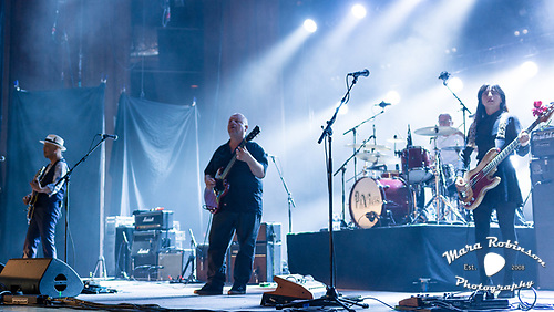 Pixies band, by Akron and Cleveland Music Photographer, Portrait Photographer and Event Photographer Mara Robinson, Mara Robinson Photography. At Blossom Music Center.