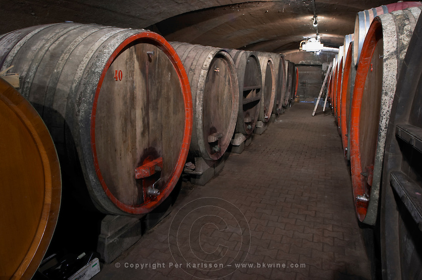wooden vats domaine du vissoux beaujolais burgundy france