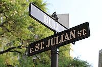 Bull Street street sign
