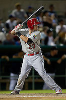 Ryan Jackson (23) of the Springfield Cardinals at bat during a game against the South All-Stars 2011 in the Texas League All-Star game at Nelson Wolff Stadium on June 29, 2011 in San Antonio, Texas. (David Welker / Four Seam Images)