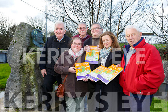 The Ballydonoghue Parish Magazine is Launching at Tomaisin's Lisselton on Friday 1st December Pictured  front l-r Maria Leahy (Editor) Jim Finnerty (Chairman), Back l-r Mick Browne, Colette O'Connor, Joe Moran, John Keane