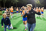 BLOEMENDAAL  - Hockey -  finale KNHB Gold Cup dames, Bloemendaal-HDM . Bloemendaal wint na shoot outs. Edith Karsten (Bldaal) COPYRIGHT KOEN SUYK