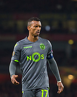 Sporting Nani during the UEFA Europa League match between Arsenal and Sporting Clube de Portugal at the Emirates Stadium, London, England on 8 November 2018. Photo by Andrew Aleksiejczuk / PRiME Media Images.