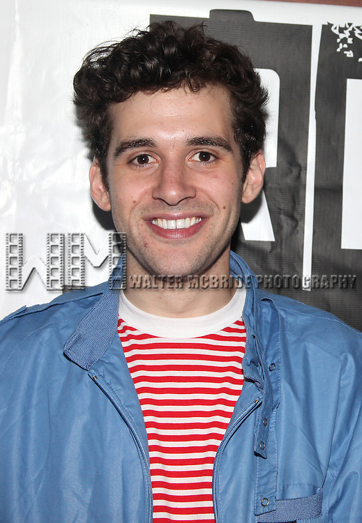 Adam Chanler-Berat.attending the Off-Broadway Opening Night After Party for 'RENT' at Glass House Tavern in New York City....