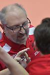 06.01.2018,  Lueneburg GER, VBL, SVG Lueneburg vs TV Buehl im Bild Trainer Ruben Wolochin (Buehl)  / Foto © nordphoto / Witke