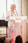 Queen Sofia of Spain attends the social action awards 2015 of the Mapfre Fundation at Casino Madrid, Spain. June 18, 2015.<br />  (ALTERPHOTOS/BorjaB.Hojas)