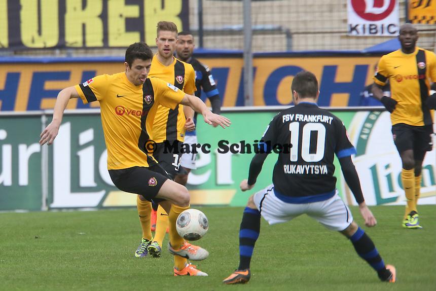 Anthony Losilla (Dresden) - FSV Frankfurt vs.Dynamo Dresden, Frankfurter Volksbank Stadion