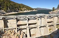 Bear Valley Dam Big Bear Lake California