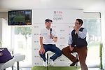 Danny Willett of England visits the UBS Pavilion during the 58th UBS Hong Kong Golf Open as part of the European Tour on 09 December 2016, at the Hong Kong Golf Club, Fanling, Hong Kong, China. Photo by Vivek Prakash / Power Sport Images