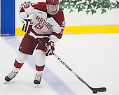 Jimmy Vesey (Harvard - 19) - The Harvard University Crimson tied the visiting Dartmouth College Big Green 3-3 in both team's first game of the season on Saturday, November 1, 2014, at Bright-Landry Hockey Center in Cambridge, Massachusetts.