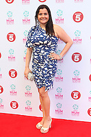 Nina Wadia arriving at the Tesco Mum Of The Year Awards 2014, at The Savoy, London. 23/02/2014 Picture by: Alexandra Glen / Featureflash
