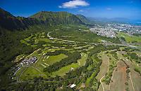 Aerial of Koolau Golf Course
