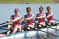 Race: 32  Event: J18 4x  A Final<br /> <br /> Junior Sculling Regatta 2018<br /> <br /> To purchase this photo, or to see pricing information for Prints and Downloads, click the blue 'Add to Cart' button at the top-right of the page.