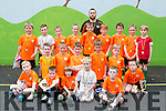 MEKD soccer club u8's who were presented medals at the clubs awards in Fossa on Saturday