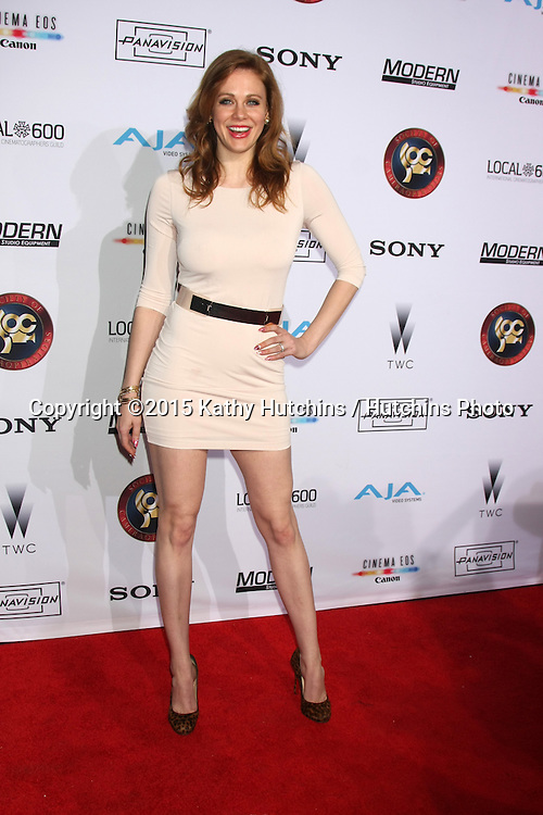 LOS ANGELES - FEB 8:  Maitland Ward at the 2015 Society Of Camera Operators Lifetime Achievement Awards at a Paramount Theater on February 8, 2015 in Los Angeles, CA